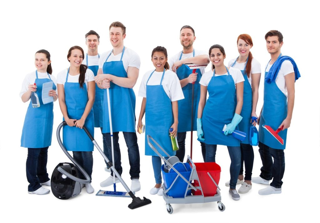 Cleaning services staff in Brisbane