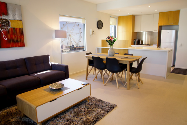 Inside a Docklands Apartment